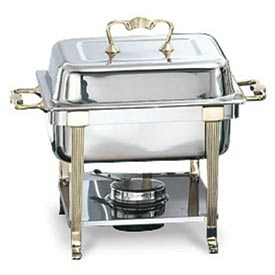 Classic Brass Half Size Chafer
