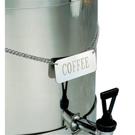 """Coffee"" Name Plate"