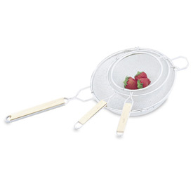 "Strainer - Medium Mesh 8"" - Pkg Qty 12"