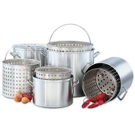 Steamer Basket 20 Qt. Sauce Pot