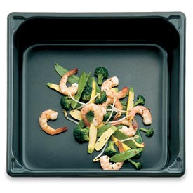 """Half Size 4""""D Pan With Steelcoat X3™ - Pkg Qty 6"""