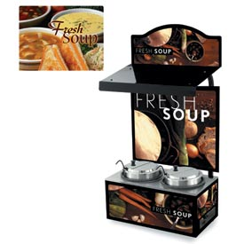 Cayenne® - Twin Well 7 Qt. Soup Merchandisers - Canopy Homestyle