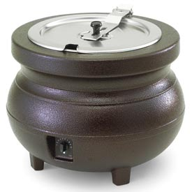 Vollrath 72166 - Cayenne Colonial Kettle 11 Qt. Copper Warmer with Package