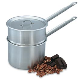 Vollrath Double Boiler 2 Qt., Complete Set, Stainless Steel - 77020