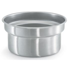 Stainless Steel Vegetable Inset 7-1/4 Qt - Pkg Qty 6