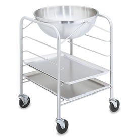 Bowl Stand with Tray Slides