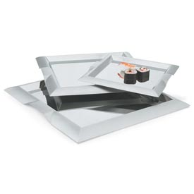 """Vollrath® Stainless Steel Square Serving Tray - 18-1/2""""L X 18-1/2""""W - Pkg Qty 3"""