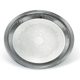 Vollrath® Esquire™ Large Round Tray - Pkg Qty 3