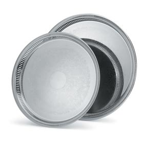 """Vollrath® Silverplate Elegant Reflections™ Gallery Tray - 13"""""""