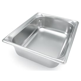 Vollrath® 1/2 Size Super Pan 3® 90252 Pan 55mm, 2d - Pkg Qty 6