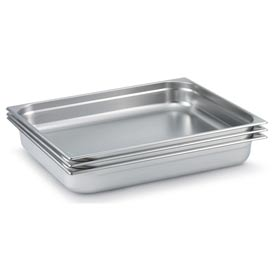 Vollrath® 2/1 Size Super Pan 3® 92052 Pan 55mm, 2d - Pkg Qty 6