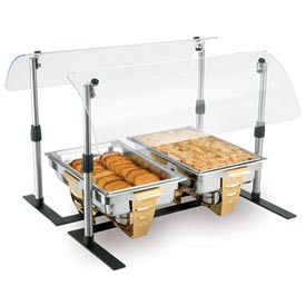 "48"" Mobile Countertop Breath Guard"