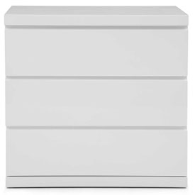 Whiteline Modern Living Anna Collection Single Dresser High Gloss White