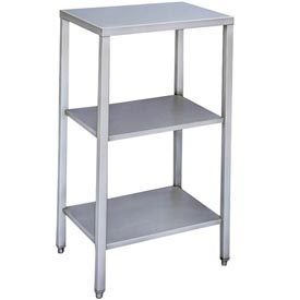 "Winholt ES/S1622 22""W x 16""D Stainless Steel Equipment Stand - Scale"