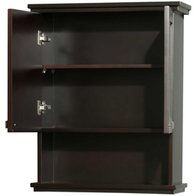 "Wyndham Acclaim Wall Cabinets, 25""L, Espresso"