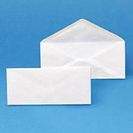 Envirotech Recycled #10 White Envelopes, 20-lb. Bond, 500/Box