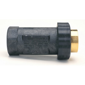 Zurn 1UFX1F-705 1 In. Union FNPT x FNPT Dual Check Valve - 175 PSI - Lead-Free Cast Bronze
