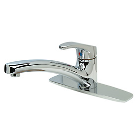 Single Control Kitchen Faucet W/Hose Spray