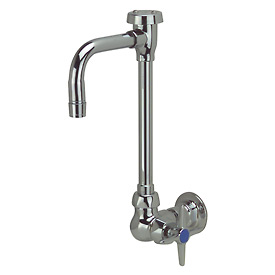 Zurn Z875T2-6M - Wall Mounted Vb Gooseneck Lab Faucet