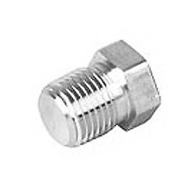 General Plug & Manufacturing Cap 300# Galvanized Steel - 1/8'' - Pkg Qty 100