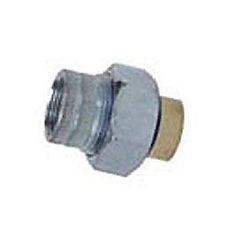 Hico Flex Brass 3179 Dielectric Union 150# Zinc Plated Steel - 1/2''x3/4''