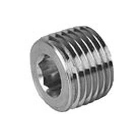 Capitol 13013715 Hex Socket Head Plug 150# Black Steel - 1-1/2 In.