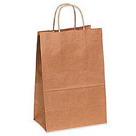 "Shopping Bag 7-/4""W x 4-3/4""D x 9-3/4""H 250 Pack"