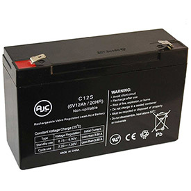 AJC® Brand Replacement UPS Batteries for Best Power 7 Amps