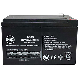 AJC® Brand Replacement UPS Batteries for Minuteman 10 Amps