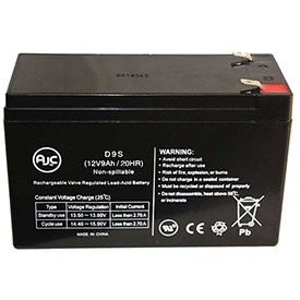 AJC® Brand Replacement UPS Batteries for Minuteman 9 Amps