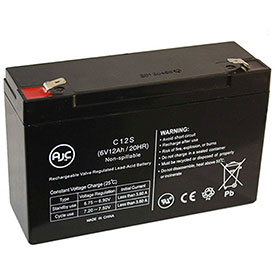 AJC® Brand Replacement Lead Acid Batteries For Dictograph