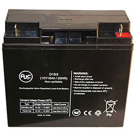 AJC® Brand Replacement Lead Acid Batteries For Dyna Tech