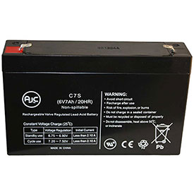 AJC® Brand Replacement Lead Acid Batteries For Dyna-Ray