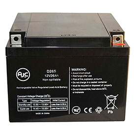 AJC® Brand Replacement Lead Acid Batteries For General Power