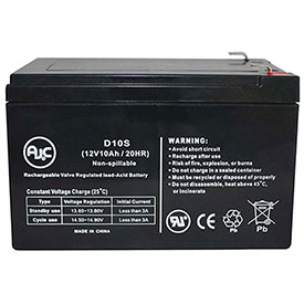 AJC® Brand Replacement Lead Acid Batteries For National Power
