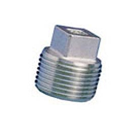General Plug & Manufacturing Plug 300# Galvanized Steel - 1/4'' - Pkg Qty 100