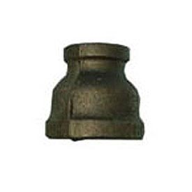 BMI Canada MBRCP2015 Reducer Coupling 150# Black Malleable - 2 In. X 1-1/2 In.
